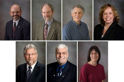 Seven faculty members appointed to the Academy of Faculty Service